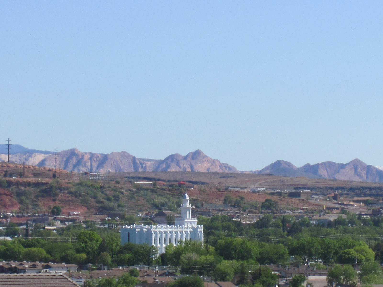 Downtown St George UT