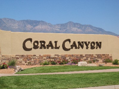 Coral Canyon Golf Community