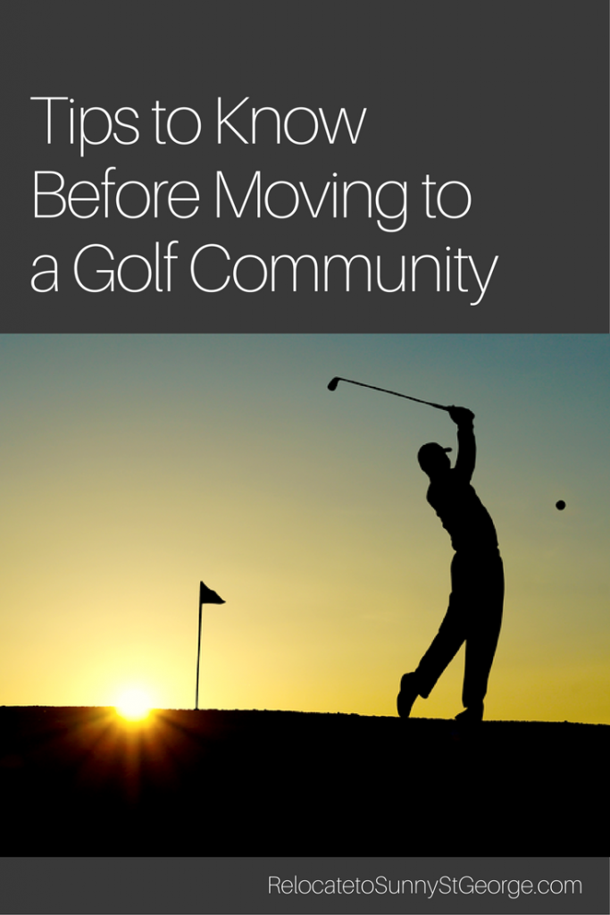 Important Factors to Look for in a Golf Course Home