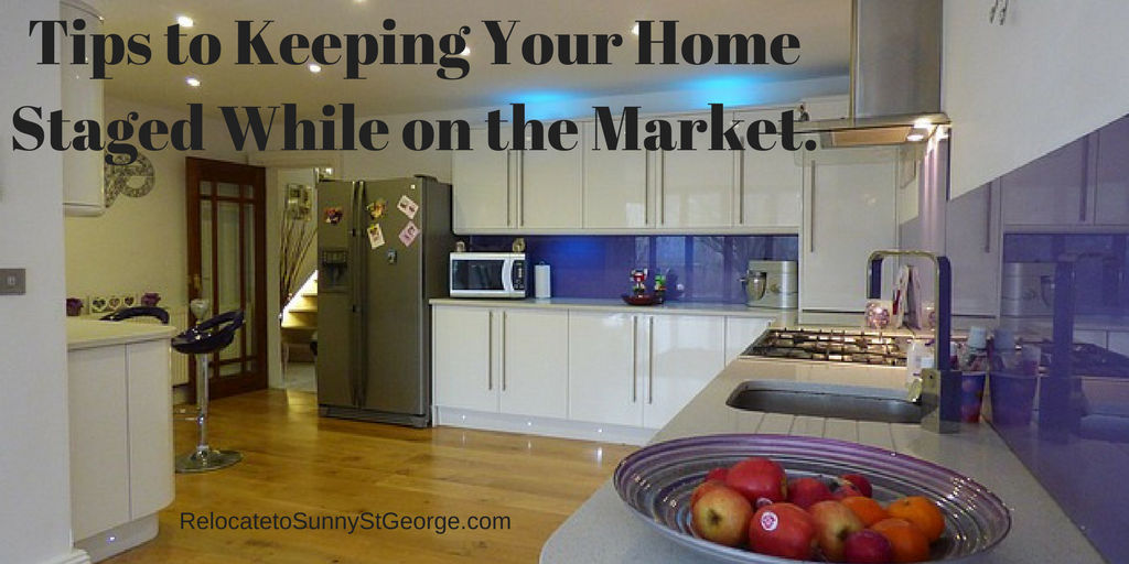 Tips to Keeping Your Home Staged While on the Market