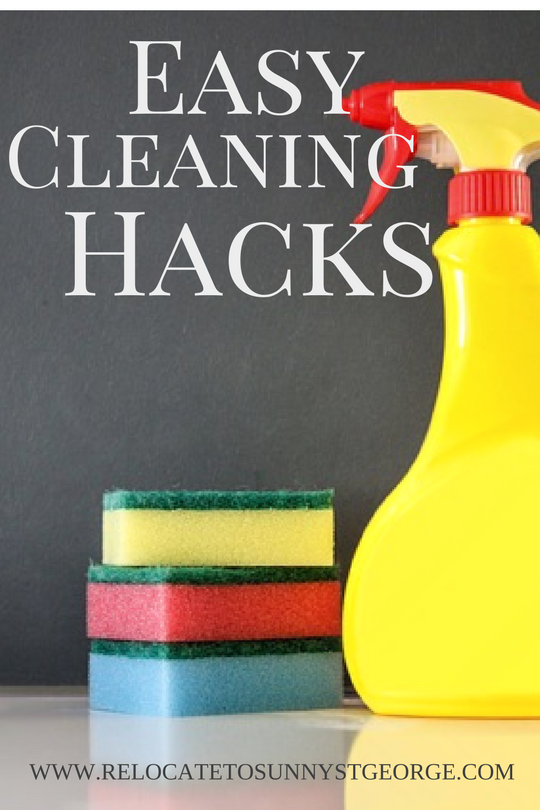 Easy and Interesting Cleaning Hacks