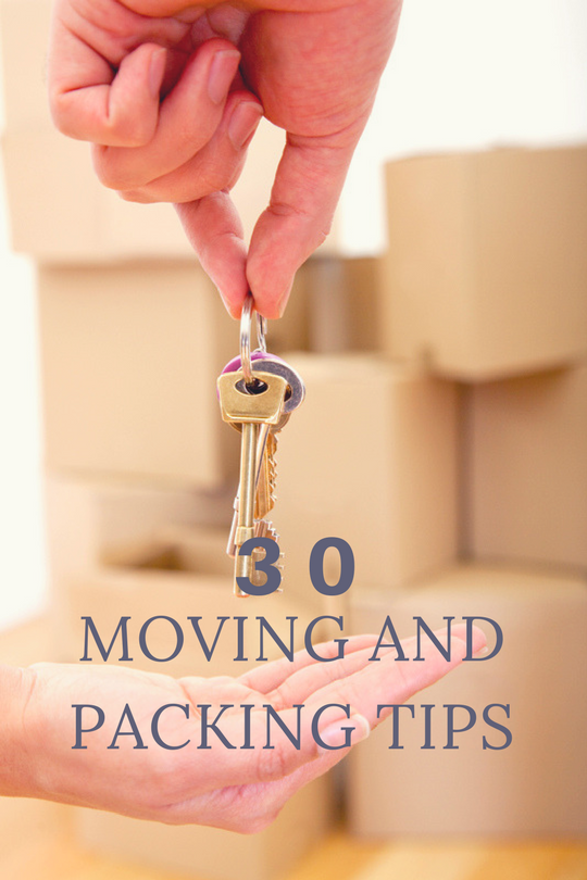 30 Moving Tips to Make Your Relocation Super Easy