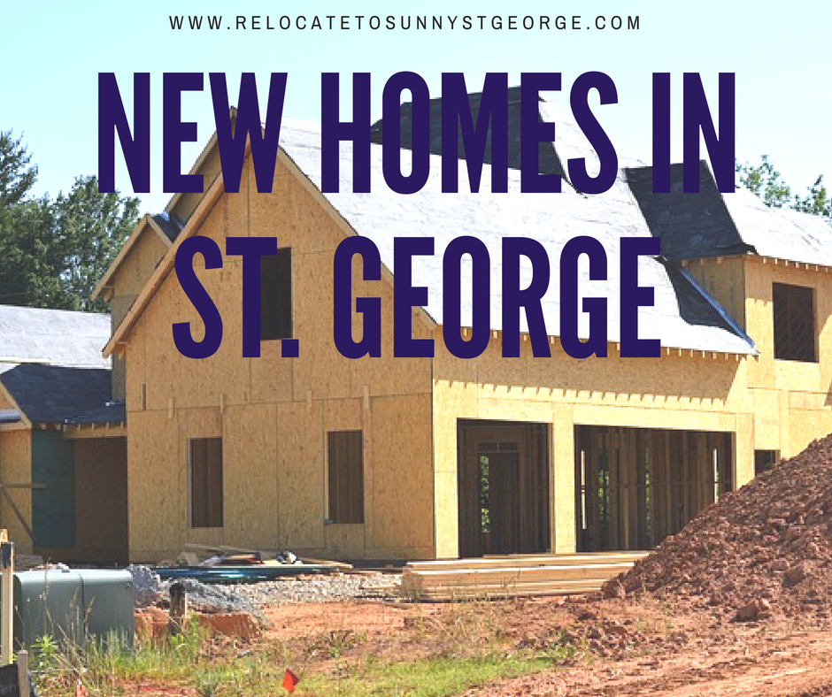 Brand New Homes in St. George 2018
