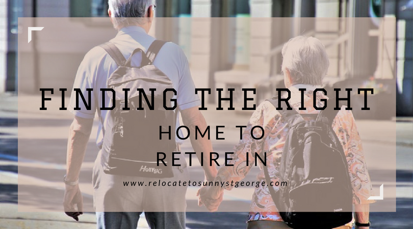 How to Choose a Home to Retire In