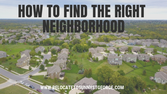 4 Simple Ways to Find the Right Neighborhood
