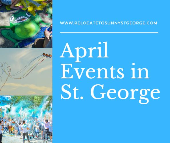 April Events and Festivals in St. George Utah