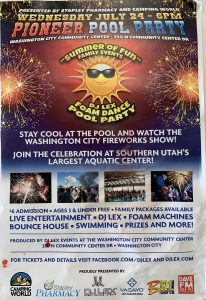 24th of July in Washington UT