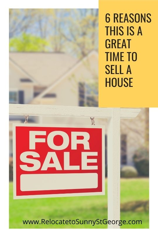 6 Reasons this is a Great Time to Sell a House