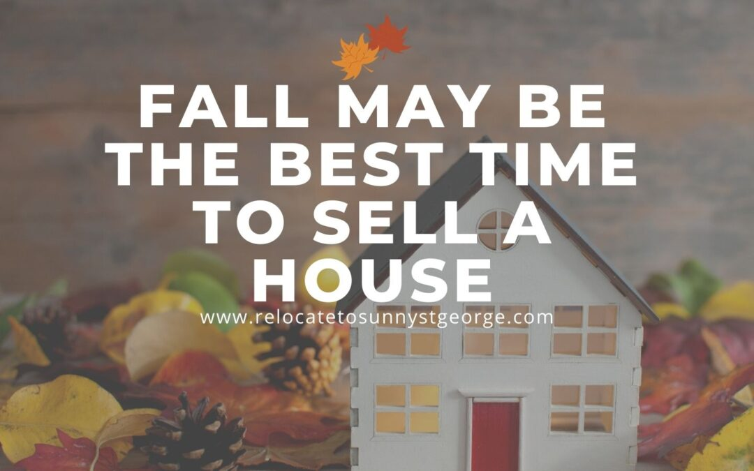 Fall May Be the Best Time to Sell a House