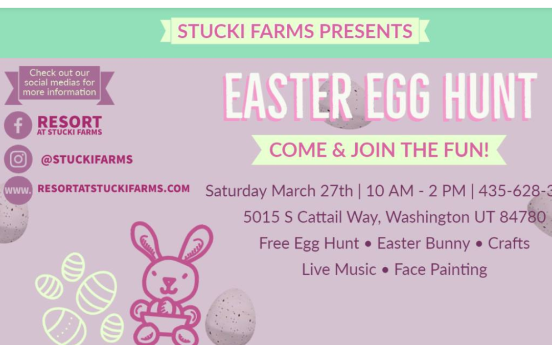 Easter Egg Hunt at Stucki Farms