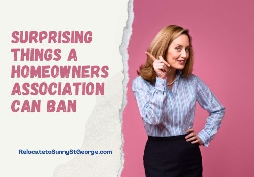 Surprising Things a Homeowners Association Can Ban